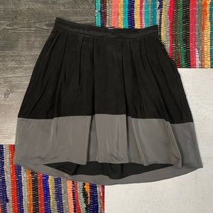 Madewell Premiere Skirt in Colorblock Skirt